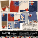 Struggles to Strength Journal Cards-$1.99 (Fayette Designs)