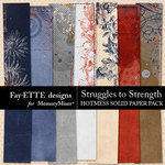 Struggles to Strength Hotmess Solids Paper Pack-$3.99 (Fayette Designs)
