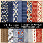 Struggles to Strength Patterned Paper Pack-$3.99 (Fayette Designs)