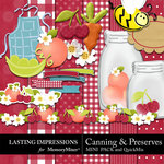 Canning and Preserves Combo-$1.25 (Lasting Impressions)