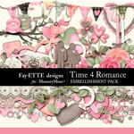 Time 4 Romance Embellishment Pack-$3.49 (Fayette Designs)