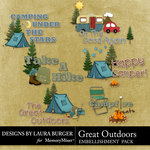 Great Outdoors WordArt-$1.25 (Laura Burger)
