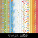 Roll Call Paper Pack-$1.75 (Lindsay Jane)