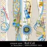 Roll Call Borders-$0.99 (Lindsay Jane)