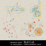 Roll Call Scatterz-$1.99 (Lindsay Jane)