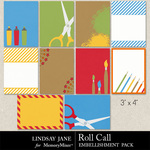 Roll Call Journal Cards-$1.99 (Lindsay Jane)