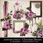 Chocolate Dreams Clusters-$3.49 (Jumpstart Designs)