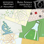 Retro Science Paper Pack-$2.80 (Bevin Dunn)