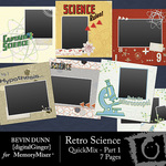 Retro Science Quickmix Part 1-$4.99 (Bevin Dunn)