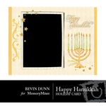 Happy Hanukkah Card-$1.00 (Bevin Dunn)