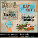 Zoo riffic WordArt-$2.49 (Laura Burger)
