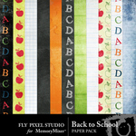 Back To School Paper Pack-$3.49 (Fly Pixel Studio)