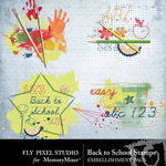 Back To School FPS Stamps-$1.99 (Fly Pixel Studio)