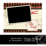 Happy Holidays Card-$1.99 (Bevin Dunn)