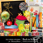 Back To School Embellishment Pack-$2.99 (Fly Pixel Studio)