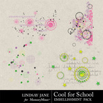 Cool for School Scatterz-$1.99 (Lindsay Jane)