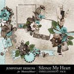 Silence My Heart Clusters-$2.49 (Jumpstart Designs)
