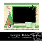 Holiday Trimmings Card-$1.00 (Bevin Dunn)