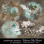 Silence My Heart Scatters-$2.49 (Jumpstart Designs)