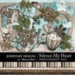 Silence My Heart Add On Embellishment Pack-$3.99 (Jumpstart Designs)