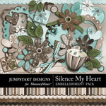 Silence My Heart Add On Embellishment Pack-$3.49 (Jumpstart Designs)