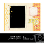 Joy Holiday Card-$1.99 (Bevin Dunn)