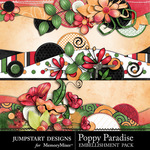 Poppy Paradise Borders-$2.49 (Jumpstart Designs)