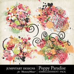 Poppy Paradise Scatters-$2.99 (Jumpstart Designs)