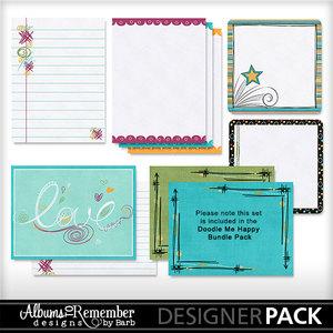 Doodlemehappy journalcards 1 medium