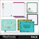 Doodle Me Happy Journal Boxes-$2.49 (Albums to Remember)