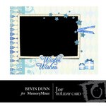 Winter Wishes Holiday Card-$1.99 (Bevin Dunn)