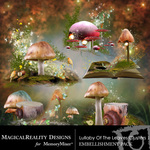 Lullaby Of The Leaves Clusters 1-$1.00 (MagicalReality Designs)