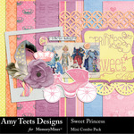 Sweet Princess Mini Pack-$3.99 (Amy Teets)