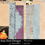 Nevermore Paper Pack-$3.45 (Amy Teets)