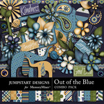 Out of the Blue Combo Pack-$4.80 (Jumpstart Designs)
