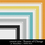 Season of Change Embossed Paper Pack-$1.99 (Lindsay Jane)