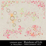 Rainbow of Life Scatterz-$1.99 (Lindsay Jane)