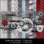 Celebration Combo Pack-$5.29 (Word Art World)