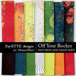 Off Your Rocker Hotmess Rays Paper Pack-$3.99 (Fayette Designs)