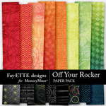 Off Your Rocker Paper Pack-$3.99 (Fayette Designs)