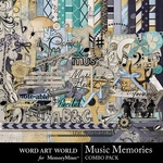 Music Memories Combo Pack-$5.29 (Word Art World)