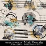 Music memories art journaling small