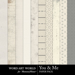You and me neutral papers medium