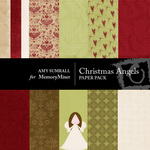 Christmas Angels Paper Pack-$4.00 (Amy Sumrall)
