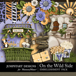 On the Wild Side Add On Embellishment Pack-$3.99 (Jumpstart Designs)