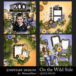 On the Wild Side Quick Pages-$3.99 (Jumpstart Designs)