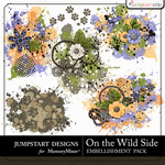 On the Wild Side Scatters-$2.49 (Jumpstart Designs)