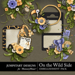 On the Wild Side Clusters-$3.49 (Jumpstart Designs)