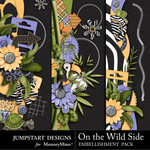 On the Wild Side Borders-$2.49 (Jumpstart Designs)