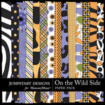 On the Wild Side Pattern Paper Pack-$1.75 (Jumpstart Designs)